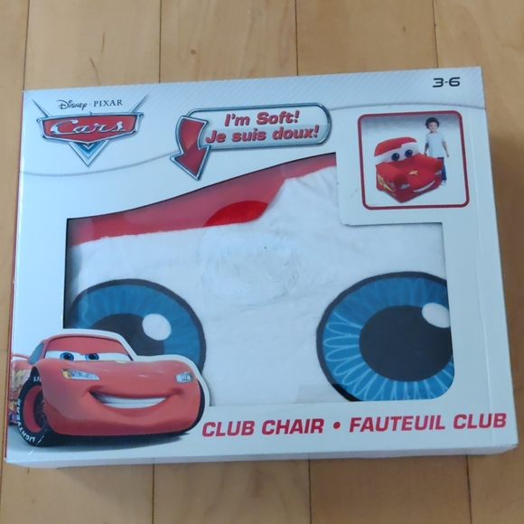 Disney Cars Comfy Chair for kids (unopened box)